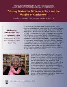 History Makes the Difference: Race and the Margins of Curriculum