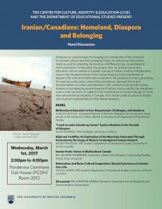 Iranian/Canadians: Homeland, Diaspora and Belonging