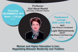 Women and Higher Education in Iran: Negotiating Between Modernity and Tradition