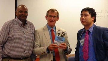 L-R: CCIE Director Handel Wright, Nick Gray, and Tenzin.