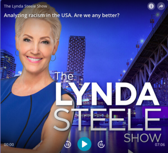 Interview with Lynda Steele Show at CKNW: Analyzing racism in the USA. Are we any better?