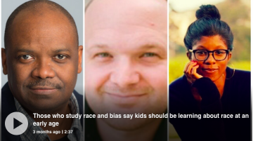 Tips for discussing race with kids from Handel Wright, Andrew Baron and Rhea Boyd