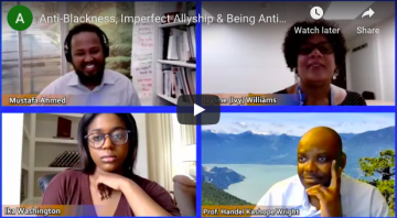 Anti-Blackness, Imperfect Allyship & Being Antiracist