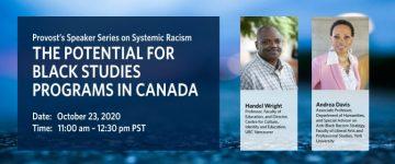 The potential for Black Studies programs in Canada