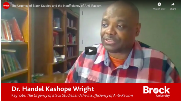 The Urgency of Black Studies and the Insufficiency of Anti-Racism